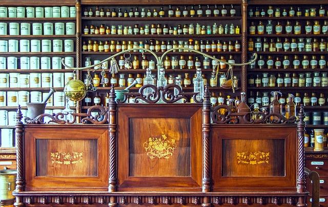 historická lékárna