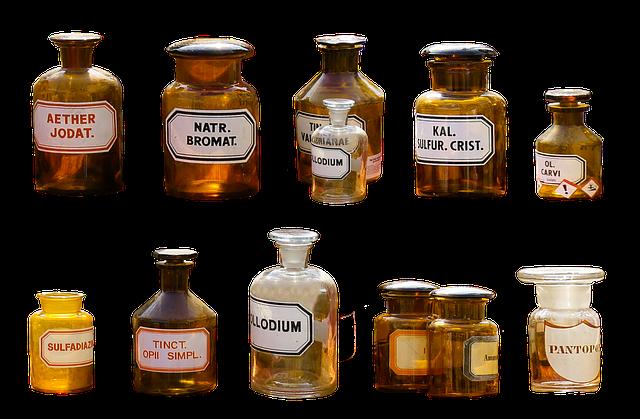 lékařské nádobky