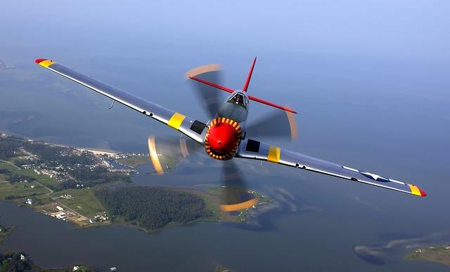 barevné letadlo
