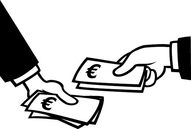 předávka peněz